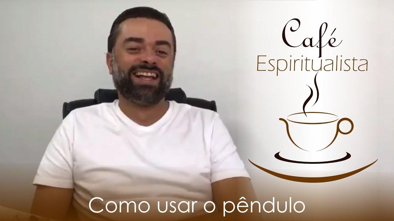 Daniel Souza Transmitindo o café espiritualista ao vivo